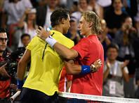 Испанский теннисист Рафаэль Надаль сенсационно проиграл 18-летнему канадцу Денису Шаповалову в матче третьего круга турнира серии Masters в канадском Монреале