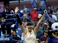 Мария Шарапова пробилась в третий раунд US Open