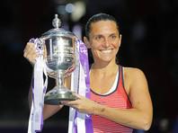 Воры украли все трофеи итальянской теннисистки Роберты Винчи
