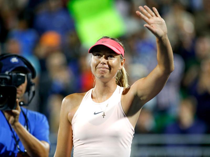 Мария Шарапова из-за травмы снялась с турнира в Стэнфорде