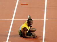 Травма Болта не позволила ямайскому квартету финишировать в эстафете 4х100 метров