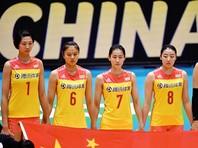 Российские волейболистки уступили в трех партиях китаянкам