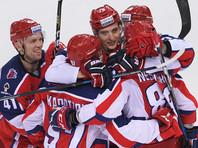 Столичный ЦСКА одержал восьмую победу подряд в чемпионате КХЛ