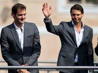 Рафаэль Надаль и Роджер Федерер впервые в карьере окажутся по одну сторону сетки
