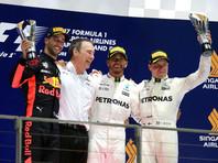 Льюис Хэмилтон стал победителем Гран-при Сингапура