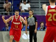 Россияне победно завершили групповой этап Евробаскета