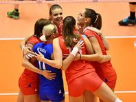 Российские волейболистки завершили выступление на Всемирном кубке чемпионов победой над Южной Кореей