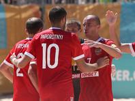 Сборная России по пляжному футболу в пятый раз победила в Суперфинале Евролиги