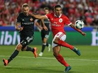 ЦСКА впервые победил на старте группового турнира Лиги чемпионов УЕФА