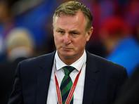 Тренера сборной Северной Ирландии по футболу арестовали за вождение в пьяном виде
