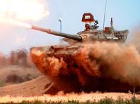 В Нижнем Тагиле состоялись соревнования по танковому биатлону, которые были приурочены ко Дню танкиста. За победу спорили экипажи трех машин Т-72Б3 (по три человека в каждом)
