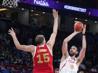 Российские баскетболисты остались без медалей чемпионата Европы