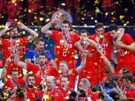 Российские волейболисты во второй раз в истории стали чемпионами Европы