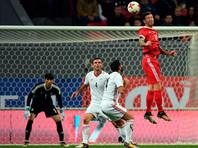 Российские футболисты сыграли вничью с иранцами в товарищеском матче