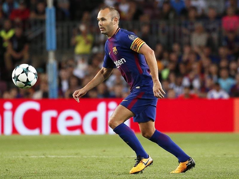 """Каталонский футбольный клуб """"Барселона"""" объявил о продлении контракта со своим капитаном Андресом Иньестой. По новому соглашению 33-летний испанский полузащитник проведет в команде остаток свой карьеры"""