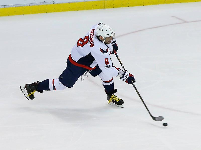 Александр Овечкин оформил хет-трик в первом матче нового сезона НХЛ