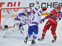 СКА взял верх над ЦСКА в армейском дерби Континентальной хоккейной лиги