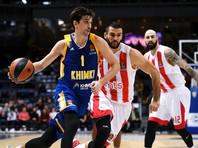 """Баскетболисты """"Химок"""" продлили победную серию в Евролиге"""