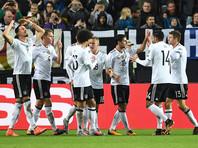Сборная Германии по футболу установила рекорд в квалификации к ЧМ-2018