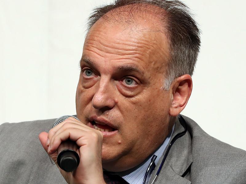 Президент высшего дивизиона чемпионата Испании по футболу Хавьер Тебас