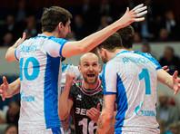"""Волейболисты """"Зенита"""" одержали 60-ю подряд победу в суперлиге"""