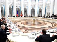 В Кремле состоялось совместное заседание Совета при президенте РФ по развитию физической культуры и спорта и наблюдательного совета оргкомитета ЧМ-2018, в ходе которого Владимир Путин высказался по поводу лимита на легионеров