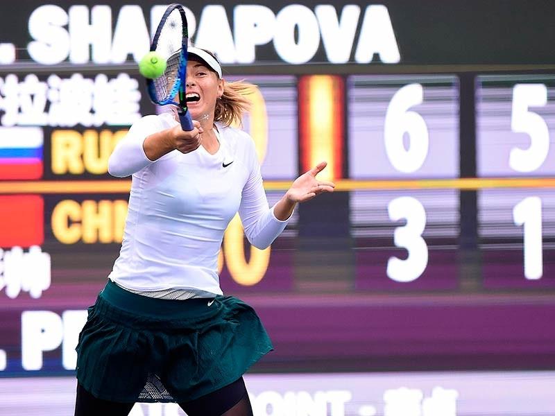 Российская теннисистка Мария Шарапова обыграла белоруску Арину Соболенко в финале турнира WTA, который завершился в китайском Тяньцзине. Призовой фонд соревнований составлял 426 тысяч долларов, победительница получит 111 164 доллара