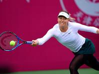 Шарапова победила на турнире WTA впервые с мая 2015 года, когда в финале соревнований в Риме оказалась сильнее испанки Карлы Суарес-Наварро. В Тяньцзине российская теннисистка выиграла свой 36-й титул в одиночном разряде