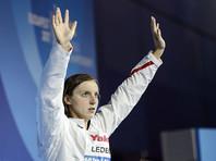 Пловчиха Кэти Ледеки объявлена спортсменкой года по версии Women's sports foundation