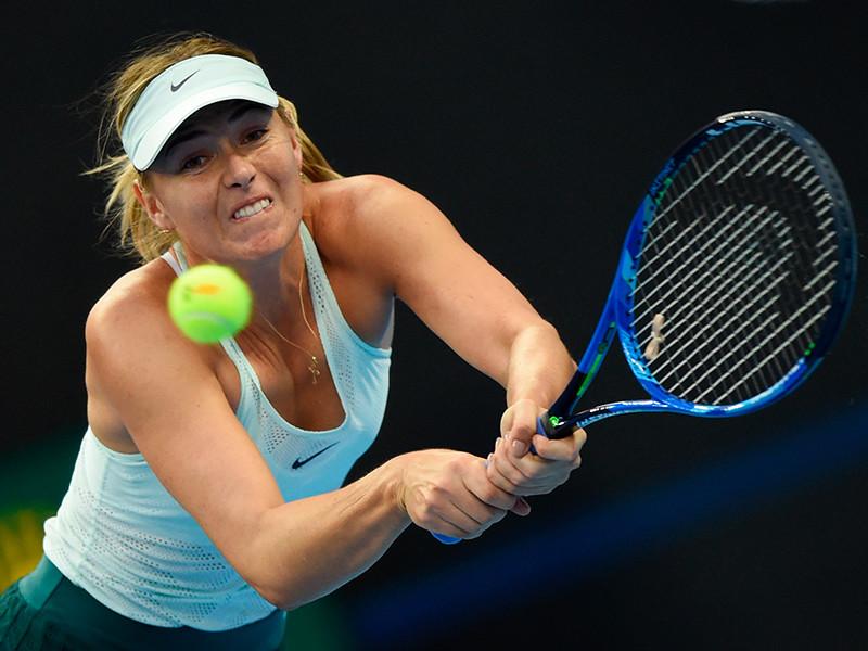 Мария Шарапова пробилась в четвертьфинал теннисного турнира в Тяньцзине