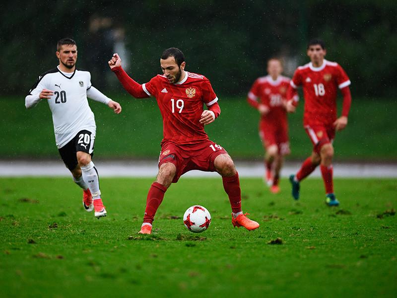Молодежная сборная России по футболу, составленная из игроков не старше 21 года, со счетом 1:0 обыграла команду Австрии в домашнем матче отборочного турнира чемпионата Европы 2019 года
