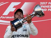 "Британский гонщик ""Формулы-1"" Льюис Хэмилтон выиграл Гран-при Японии"