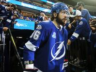 Никита Кучеров отличился в шестой игре подряд со старта сезона в НХЛ