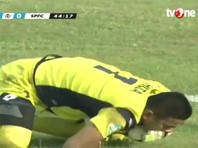 Индонезийский вратарь скончался после игрового столкновения