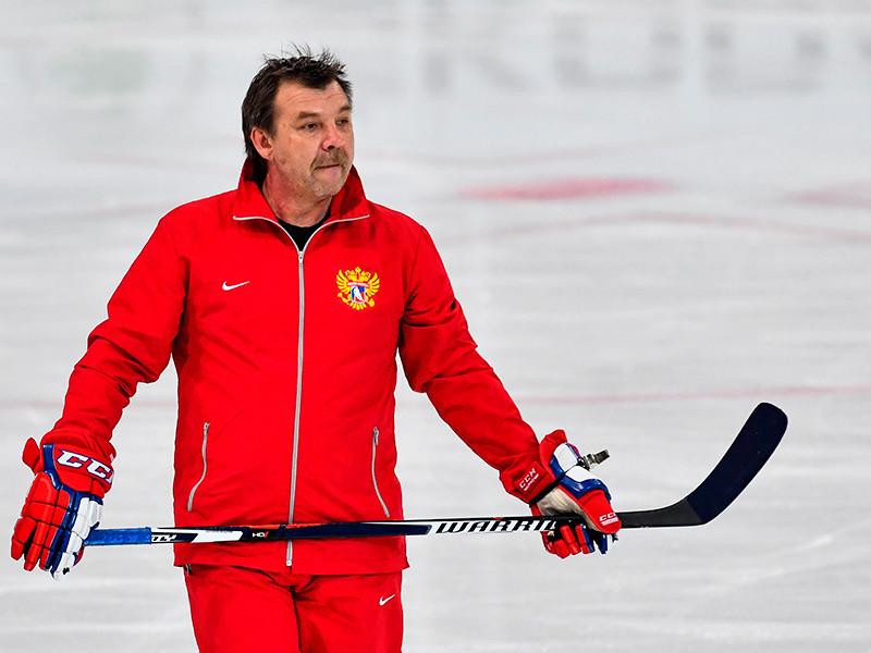 Олег Знарок призвал под знамена сборной десятерых хоккеистов питерского СКА