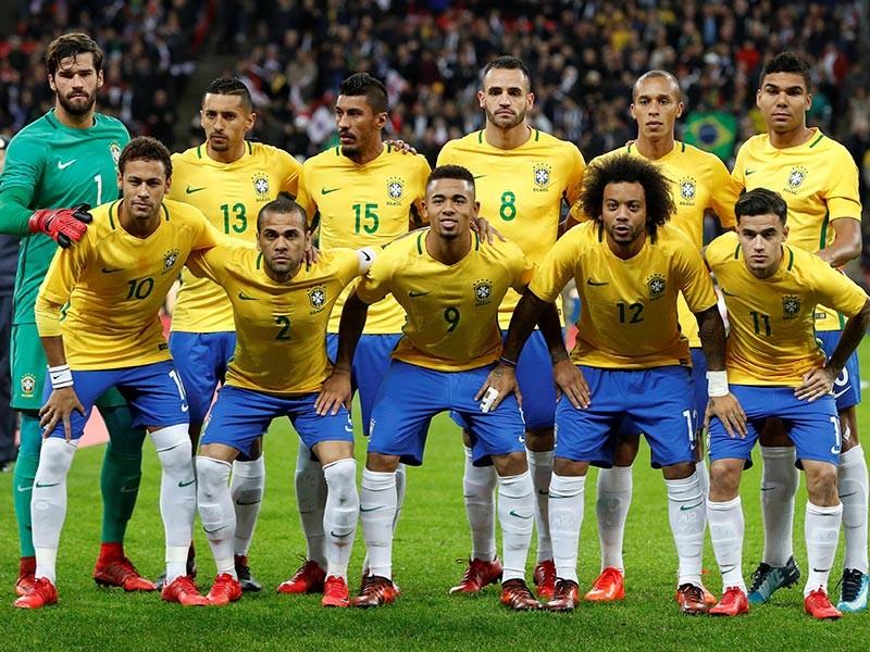 """Бразильская футбольная сборная самая дорогая в мире, команда России """"стоит"""" в пять раз дешевле"""