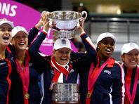 Теннисистки США впервые за 17 лет сумели завоевать Кубок Федерации