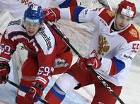 Три шайбы Михаила Григоренко помогли российским хоккеистам победить чехов