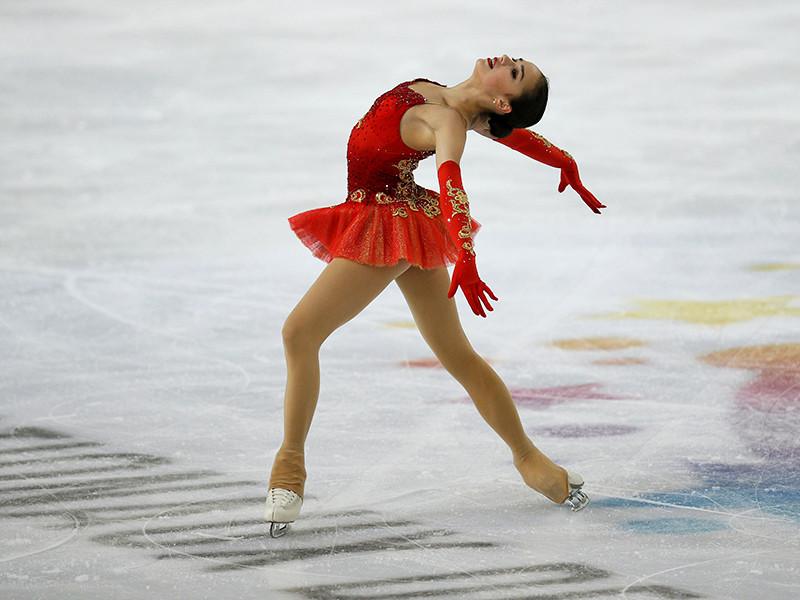 Фигуристка Алина Загитова победила на этапе Гран-при в Гренобле