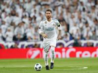 """Защитник """"Реала"""" Серхио Рамос получил перелом носа в мадридском дерби с """"Атлетико"""", которое состоялось в рамках чемпионата Испании и завершилось вничью со счетом 0:0"""