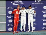 Квалификацию Гран-при Абу-Даби выиграл финский гонщик Вальттери Боттас