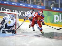 Российские хоккеисты начали олимпийский сезон с поражения