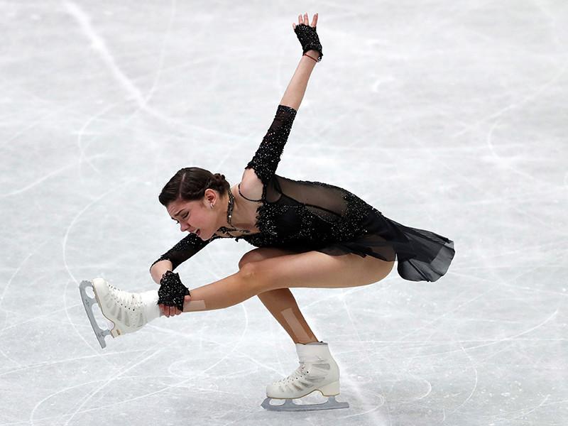 Двукратная чемпионка мира и Европы российская фигуристка Евгения Медведева победила на четвертом этапе Гран-при в японской Осаке