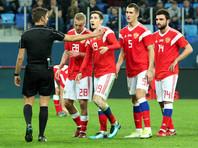 Сборная России по футболу ушла с антирекордной позиции в рейтинге ФИФА