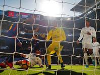 """""""Барселона"""" в Мадриде отправила три безответных мяча в ворота """"Реала"""""""