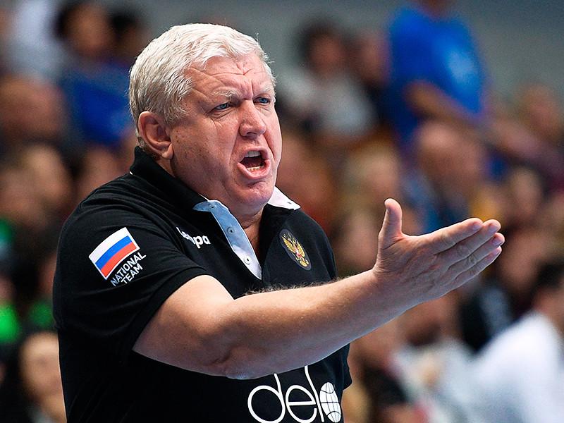 Евгений Трефилов продолжит работу с женской сборной России по гандболу