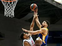 """Подмосковные """"Химки"""" прервали серию из трех поражений в баскетбольной Евролиге"""