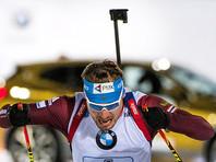 Антон Шипулин финишировал шестым в спринтерской гонке Кубка мира по биатлону