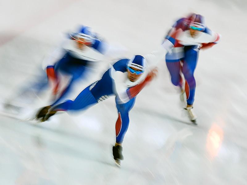 Сборная России заняла второе место в неофициальном медальном зачете на чемпионате Европы по конькобежному спорту