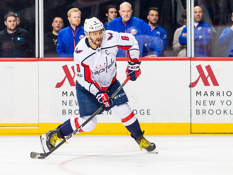 Овечкин вновь единолично возглавил список лучших снайперов сезона в НХЛ